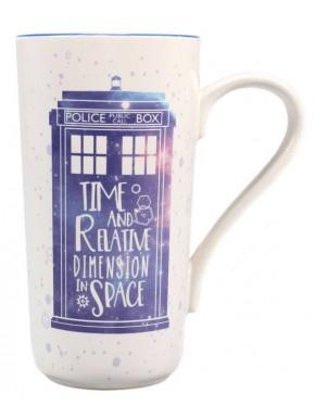 Taza Doctor Who Tardis Latte