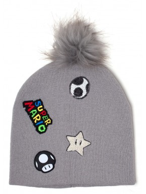Gorro Super Mario Parches