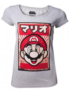 Camiseta Chica Super Mario Vintage