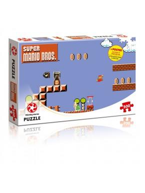 Puzzle Super Mario Bros Pantalla