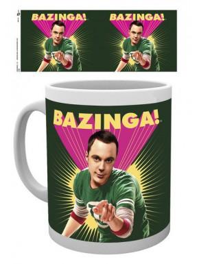 Taza Big Bang Theory Sheldom Bazzinga