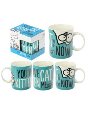Taza Simon's Cat You've Cat to be Kitten Me...