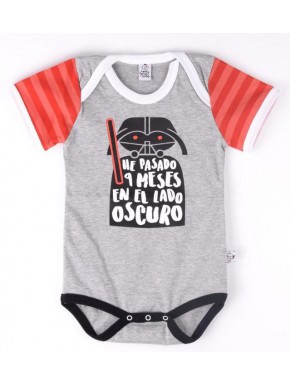 Body bebé Darth Vader Star Wars Lado Oscuro