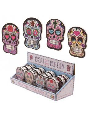 Lima de Uñas Calavera Mexicana Día de los Muertos