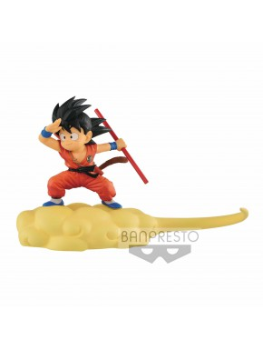 Figura Dragon Ball Son Goku Nube Kintoun 13 cm Banpresto