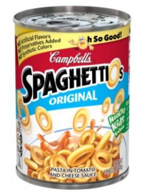 Espaguetis en lata Campbell's Spaguettios