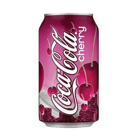 Cherrycola Coca Cola Sabor Cereza Refresco 355 ml
