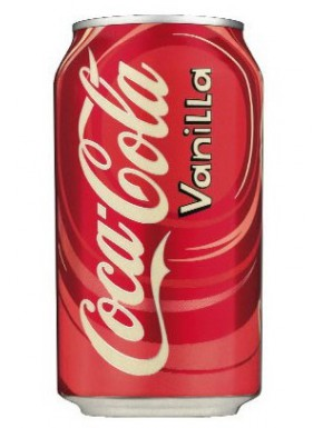 Coca Cola Sabor Vainilla Refresco 355 ml