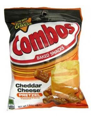 Snack Pretzel Queso Cheddar Combo's