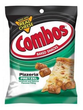 Snack Pretzel Sabor Pizza Combo's