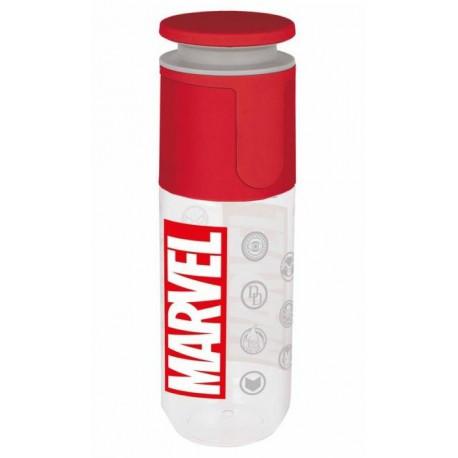 Botella Marvel Comics Tapón Giratorio 850 ml