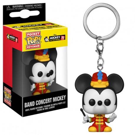Llavero mini Funko Pop! Mickey Mouse Director Banda Disney
