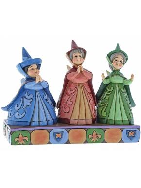 Figura Disney Hadas Madrinas La Bella Durmiente