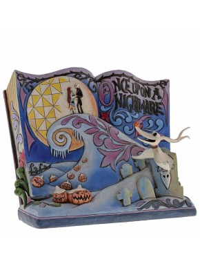Figura Pesadilla Antes de Navidad libro Disney Traditions