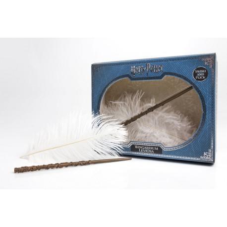 Kit Wingardium Leviosa Harry Potter Varita y Pluma Voladora