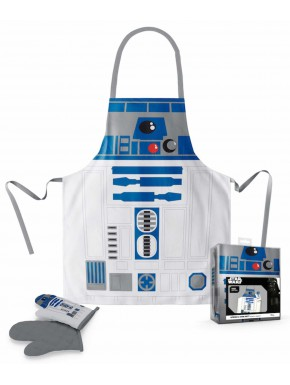 Delantal y manopla R2-D2 Star Wars