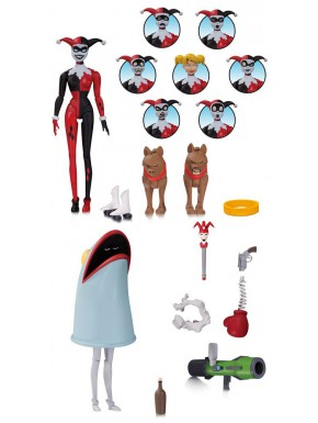 Figura articulada Harley Quinn Batman The Animated Series DC Collectibles