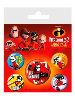 Pack Chapas Los Increíbles 2