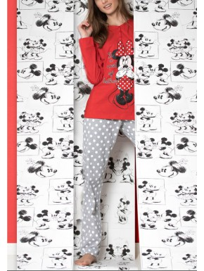 Pijama Minnie Mouse Adulto Disney
