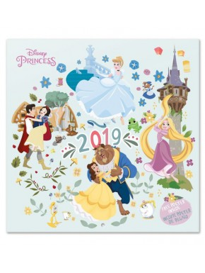 Calendario pared 2019 Princesas Disney
