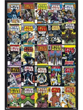Poster Star Wars Portadas Comic