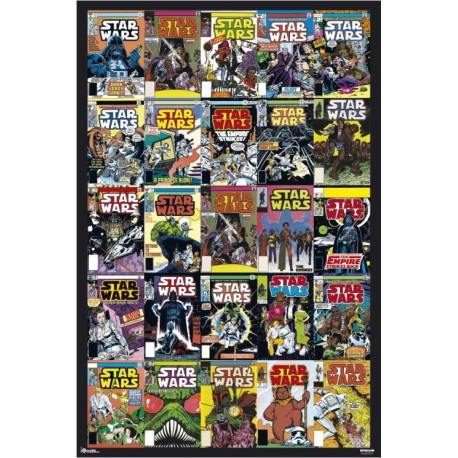 Poster Star Wars Portadas Comic