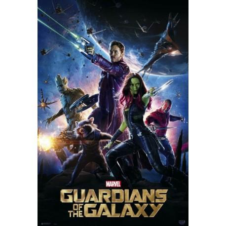 Póster Guardianes de la Galaxia Personajes