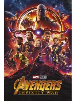 Póster Vengadores Infinity War 61 x 91 cm