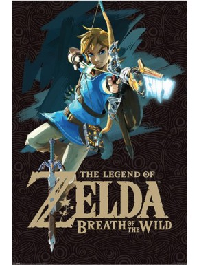 Poster Zelda Breath Of The Wild Cover