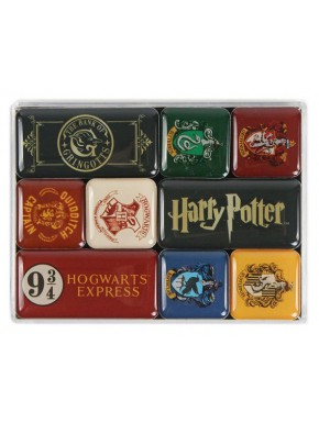 Set de Imanes Harry Potter Hogwarts