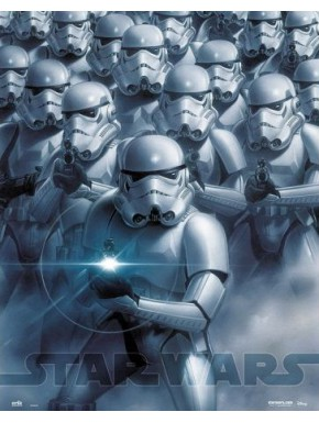 Mini Póster Star Wars Stormtroopers