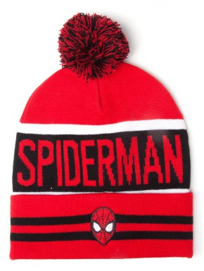 Gorro con bola Spiderman Marvel