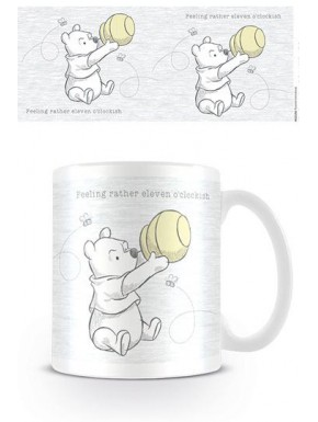 Taza Winnie the Pooh  Eleven o'clockish Disney