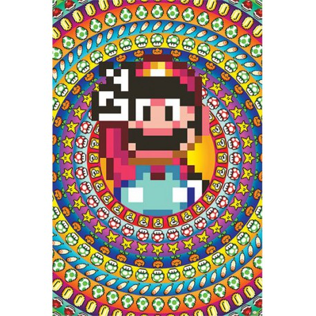 Póster Super Mario Pack Power Ups 61 x 91 cm