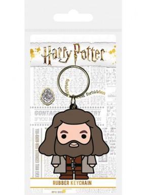 Llavero caucho Hagrid Chibi Harry Potter