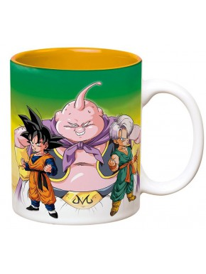 Taza Dragon Ball Goten, Trunks y Buu