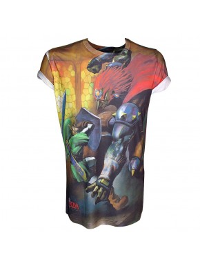 Camiseta Zelda sublimation
