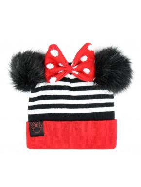 Gorro con pompones Minnie Disney