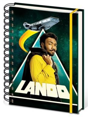 Libreta Espiral A5 Lando Star Wars