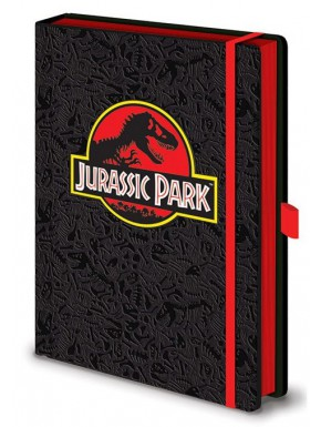 Libreta Premium A5 Jurassic Park Logo