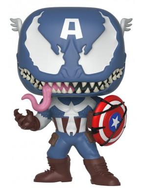 Funko Pop! Venom Capitán América Marvel