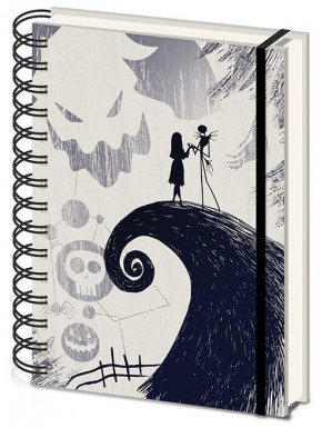 Libreta A5 Nightmare before Christmas Wiro