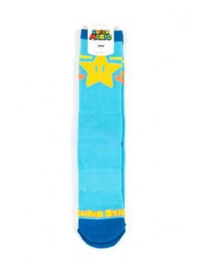 Calcetines Nintendo Super Mario Estrella