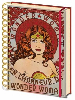 Libreta A5 Wonder Woman