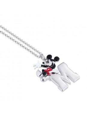 Colgante oro blanco Mickey Mouse 90 Aniversario
