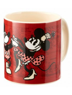 Taza Minnie Mouse Disney Vintage Cómic