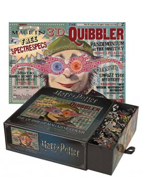 Puzzle Harry Potter Quibbler Magazine 1000 piezas