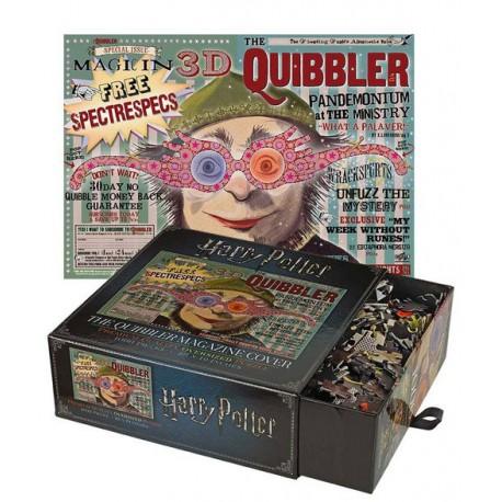 Puzzle Harry Potter Quibbler Magazine 1000 piezas
