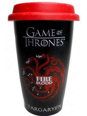 Taza de viaje Targaryen Juego de tronos