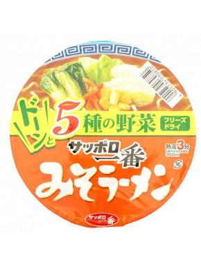Ramen de Miso Sapporo Ichiban 75 Gr